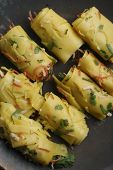 Khandvi - A Gram Flour And Buttermilk Preparation From Gujarat