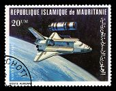 Space Shuttle Postage Stamp