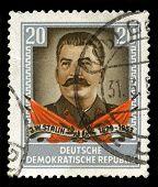 Joseph Stalin Vintage Postage Stamp