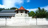 picture of vihara  - Sri Lanka - JPG