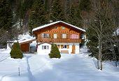 Chalet in Jura mountain Switzerland