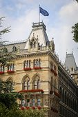 View Of Wien Rathaus In Austria