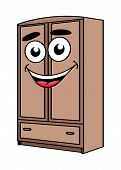 Cartoon wardrobe furniture character