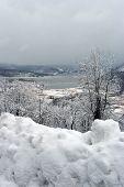 Hudson River In The Winter