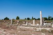 Agora - The Main Street Of The Ancient City Of Side, Turkey