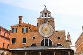 The Bell Of San Giacomo Di Rialto Church, Venice, Italy