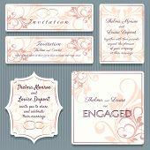 Variety Wedding Invitation Card Elemets