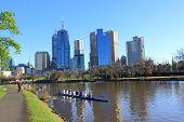 City life Melbourne