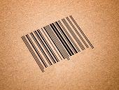 Bar Code In A Cardboard