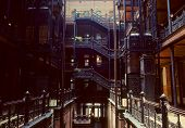 Bradbury Building, LA, CA poster