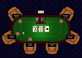 Online Poker  Flop