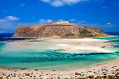 Amazing View Of Balos Lagoon