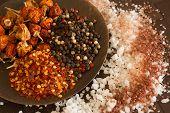 Salt, Pepper, Spices