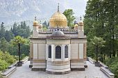 picture of munich residence  - An image of the beautiful moorish pavilion at Castle Linderhof - JPG