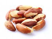 Brazil nuts in closeup