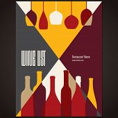 Wine list design