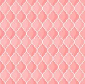 moroccan coral seamless pattern