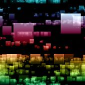 Fantastic Abstract Futuristic Technology Background Design Illustration