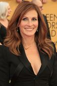 LOS ANGELES - JAN 25:  Julia Roberts at the 2015 Screen Actor Guild Awards at the Shrine Auditorium on January 25, 2015 in Los Angeles, CA
