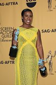 LOS ANGELES - JAN 25:  Uzo Aduba at the 2015 Screen Actor Guild Awards at the Shrine Auditorium on January 25, 2015 in Los Angeles, CA