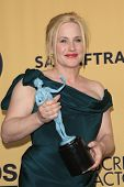 LOS ANGELES - JAN 25:  Patricia Arquette at the 2015 Screen Actor Guild Awards at the Shrine Auditorium on January 25, 2015 in Los Angeles, CA