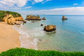 foto of lagos  - Wonderful beaches of Portugal - JPG