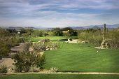 Golf course fairway, Scottsdale,Arizona,USA