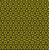 Luxurious Wall-papers With Round Yellow Patterns