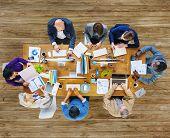 Brainstorming Digital Device Internet Technology Team Teamwork Concept