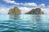 Tropical Uninhabited Islands On Andaman Sea, Krabi Province, Thailand.