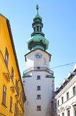 Michael Tower in Bratislava, Slovakia