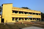 KUMROKHALI, INDIA - FEBRUARY 13, 2014: Father Ante Gabric Memorial School. The school is named after a famous Croatian Jesuit missionary Ante Gabric.