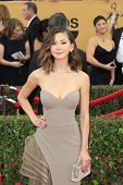 LOS ANGELES - JAN 25:  Kimiko Glenn at the 2015 Screen Actor Guild Awards at the Shrine Auditorium on January 25, 2015 in Los Angeles, CA