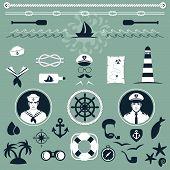 nautical icons,