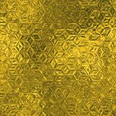 Golden Foil Seamless and Tileable Luxury background texture