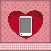 Heart Hole Smartphone Ornaments