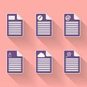 Document Icon and Symbols
