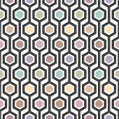 hexagon seamless pattern