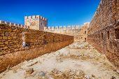 Frangokastello fortress in Crete, Greece