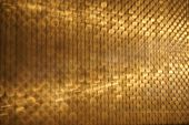 Abstract Golden Blur Motion