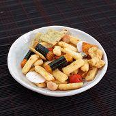 Japanese Otsumami rice cracker