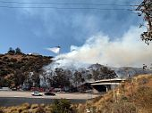 Chatsworth - Fire Along 118 Freeway
