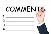 Comments List