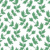 Seamless leaves wallpaper pattern