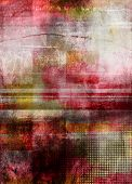 Abstract Textured Mixed Media