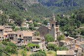 Mediterranean village of Valldemossa