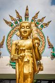 Statue Of The Buddha In Krabi,thailand