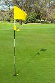 Belo campo de golfe
