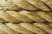 Abstract rope background texture