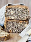 pic of flax seed  - Flourless bread with sunflower - JPG